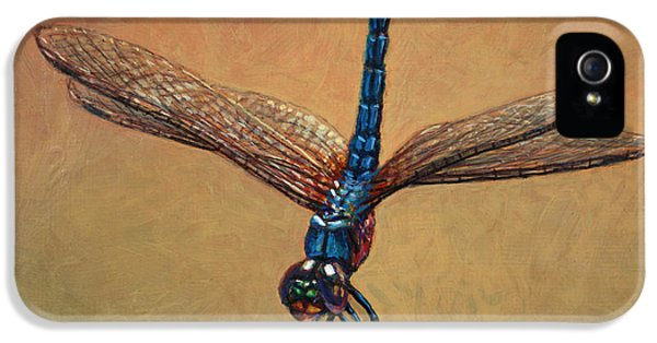 Pet Dragonfly IPhone 5 / 5s Case by James W Johnson