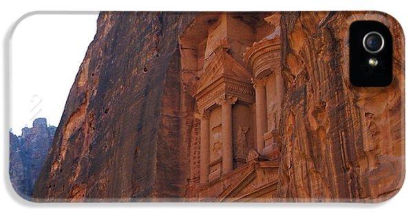 Al-khazneh iPhone 5 Cases - Petra - The Treasury iPhone 5 Case by Tawfiq Alkilani