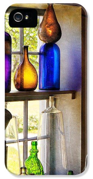 Pharmacy - Colorful Glassware  IPhone 5 / 5s Case by Mike Savad