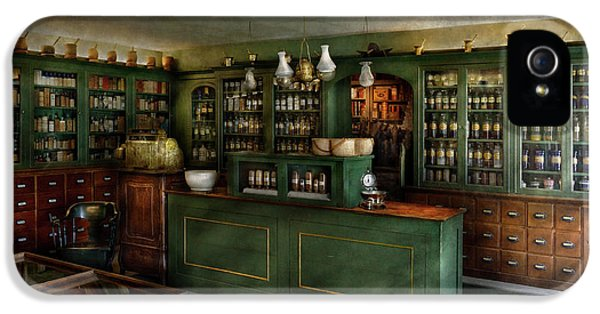Pharmacy - The Chemist Shop  IPhone 5 / 5s Case by Mike Savad