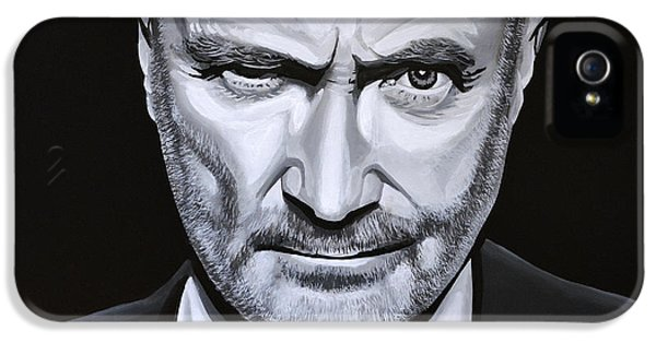 Organ iPhone 5 Cases - Phil Collins iPhone 5 Case by Paul Meijering