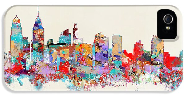 Philadelphia Skyline IPhone 5 / 5s Case by Bri B