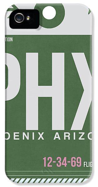 Phoenix Airport Poster 2 IPhone 5 / 5s Case by Naxart Studio