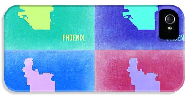 Phoenix Pop Art Map 1 IPhone 5 / 5s Case by Naxart Studio