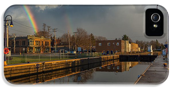 Oswego iPhone 5 Cases - Phoenix Pot of Gold iPhone 5 Case by Everet Regal