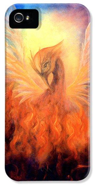 Phoenix Rising IPhone 5 / 5s Case by Marina Petro