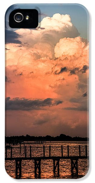 Pink Sunrise iPhone 5 Cases - Pink Dawn iPhone 5 Case by Karen Wiles