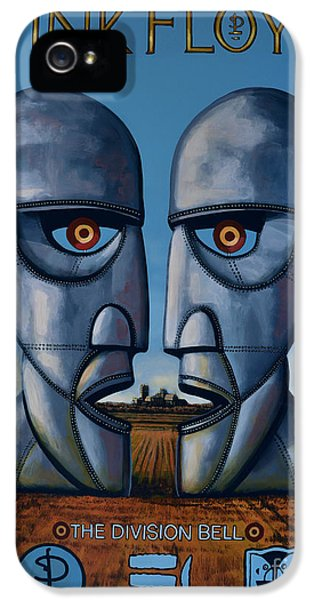 Festival iPhone 5 Cases - Pink Floyd - The Division Bell iPhone 5 Case by Paul  Meijering