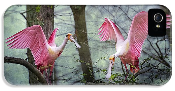 Pink Wings In The Swamp IPhone 5 / 5s Case by Bonnie Barry