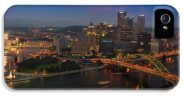 Three iPhone 5 Cases - Pittsburgh PA iPhone 5 Case by Steve Gadomski