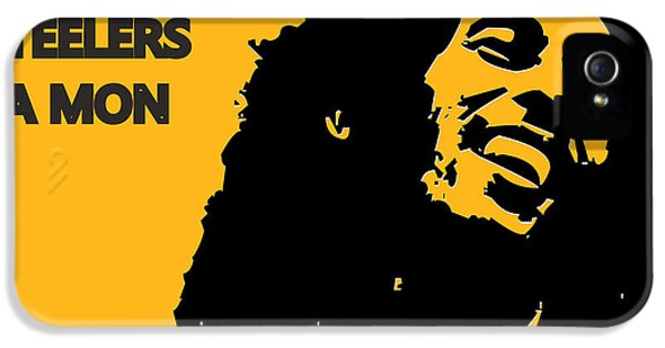 Pittsburgh Steelers Ya Mon IPhone 5 / 5s Case by Joe Hamilton