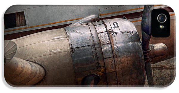 Plane - A Little Rough Around The Edges IPhone 5 / 5s Case by Mike Savad