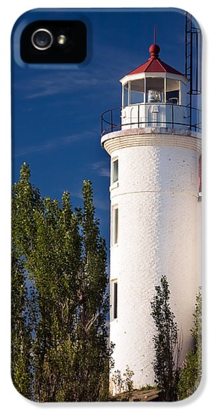 Point Betsie Lighthouse Michigan IPhone 5 / 5s Case by Adam Romanowicz
