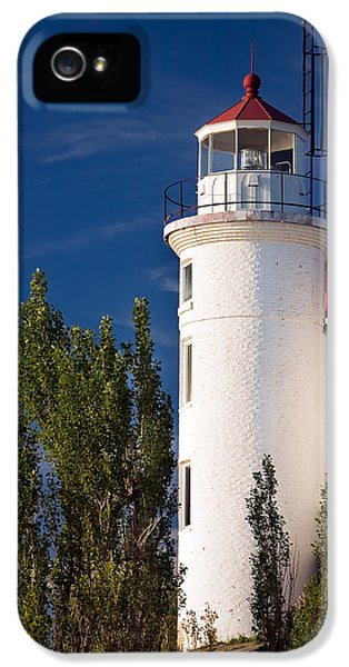 Point Betsie Lighthouse Michigan IPhone 5 / 5s Case by Adam Romanowicz