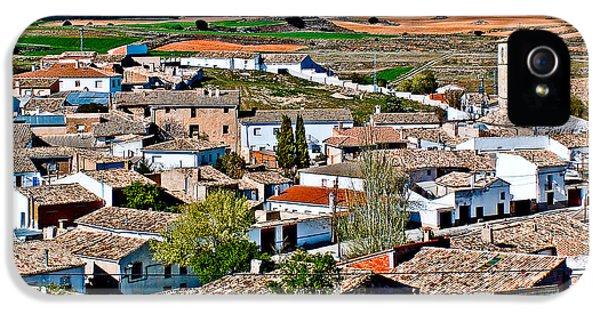 Casa Encantada iPhone 5 Cases - Points of Cuenca - Castilla la Mancha - Spain iPhone 5 Case by Pastor Bello