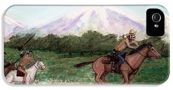 Pony Express Rider IPhone 5 / 5s Case by Larry Lamb