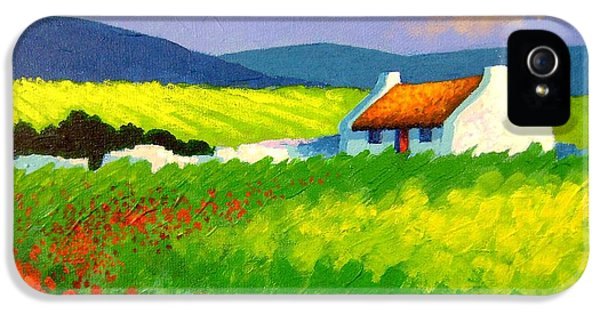 Poppy Field - Ireland IPhone 5 / 5s Case by John  Nolan