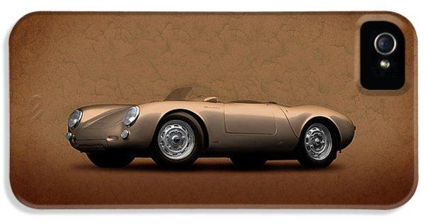 Porsche 911 iPhone 5 Cases - Porsche 550 iPhone 5 Case by Mark Rogan