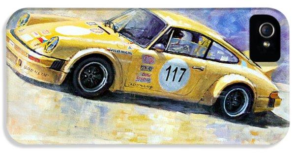 Porsche 911 iPhone 5 Cases - Porsche 911 S Typ G Josef Michl iPhone 5 Case by Yuriy Shevchuk