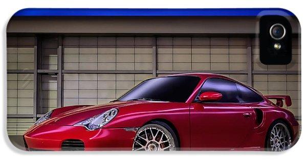 Porsche 911 iPhone 5 Cases - Porsche 911 Twin Turbo iPhone 5 Case by Douglas Pittman