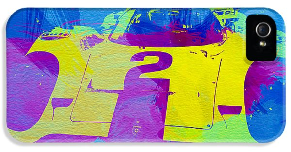 German Classic Cars iPhone 5 Cases - Porsche 917 Front End iPhone 5 Case by Naxart Studio