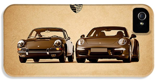 Porsche 911 iPhone 5 Cases - Porsche iPhone 5 Case by Mark Rogan