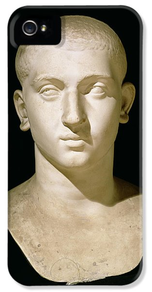 Senate iPhone 5 Cases - Portrait bust of Emperor Severus Alexander iPhone 5 Case by Anonymous