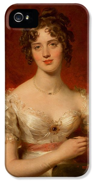 Portrait Of Mary Anne Bloxam IPhone 5 / 5s Case by Thomas Lawrence