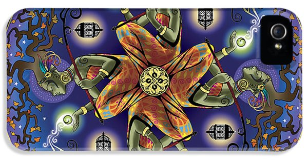 Growth iPhone 5 Cases - Potential Mandala iPhone 5 Case by Cristina McAllister
