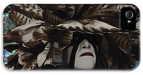 Ignacio iPhone 5 Cases - Pow Wow iPhone 5 Case by Dancin Artworks