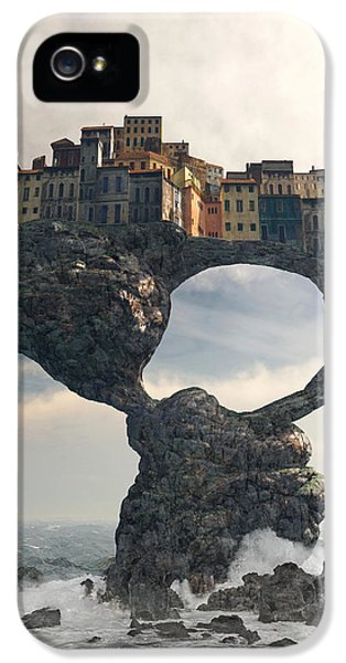 Decay iPhone 5 Cases - Precarious iPhone 5 Case by Cynthia Decker