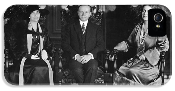 President And Mrs. Coolidge IPhone 5 / 5s Case by Underwood Archives