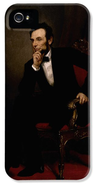 President Lincoln  IPhone 5 / 5s Case by War Is Hell Store