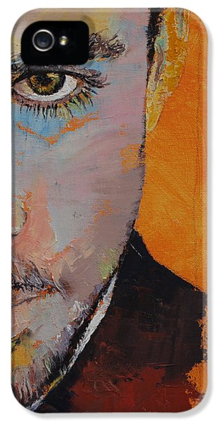 Tangerine iPhone 5 Cases - Priest iPhone 5 Case by Michael Creese