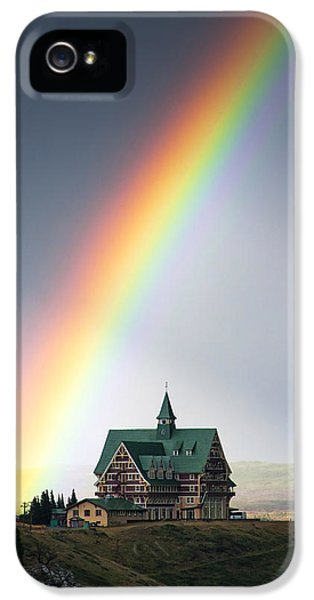 Spectrum iPhone 5 Cases - Prince of Wales Rainbow iPhone 5 Case by Mark Kiver