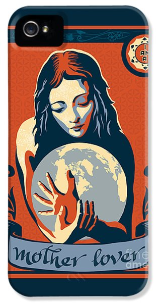 Gaia iPhone 5 Cases - Print iPhone 5 Case by Sassan Filsoof