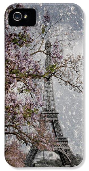 Printemps Parisienne IPhone 5 / 5s Case by Joachim G Pinkawa