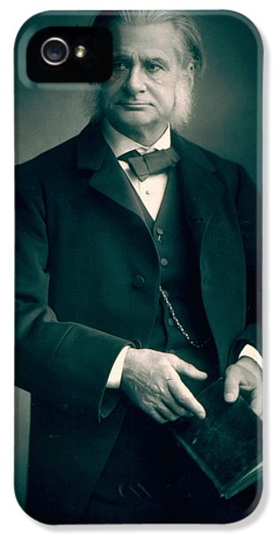 Professor Thomas H Huxley IPhone 5 / 5s Case by Stanislaus Walery