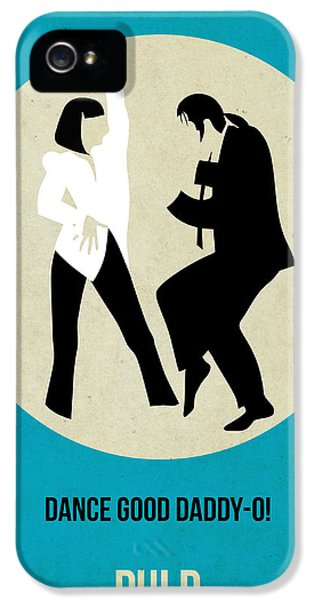 Pulp Fiction Poster 2 IPhone 5 / 5s Case by Naxart Studio
