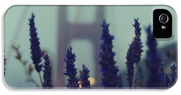 Gate iPhone 5 Cases - Purple Haze Daze iPhone 5 Case by Jennifer Ramirez