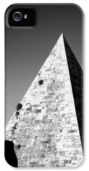 Architecture iPhone 5 Cases - Pyramid of Cestius iPhone 5 Case by Fabrizio Troiani