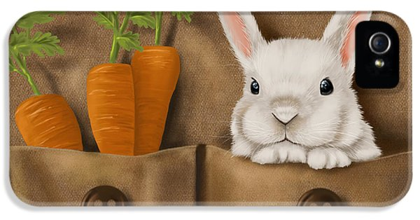 Carrot iPhone 5 Cases - Rabbit hole iPhone 5 Case by Veronica Minozzi