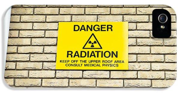 Brick iPhone 5 Cases - Radiation warning iPhone 5 Case by Tom Gowanlock