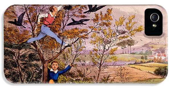 Anger iPhone 5 Cases - Raiding the Rooks Nest iPhone 5 Case by Henry Thomas Alken
