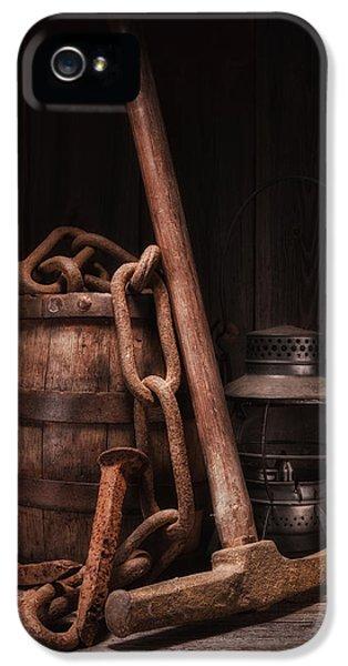 Railway Still Life IPhone 5 / 5s Case by Tom Mc Nemar