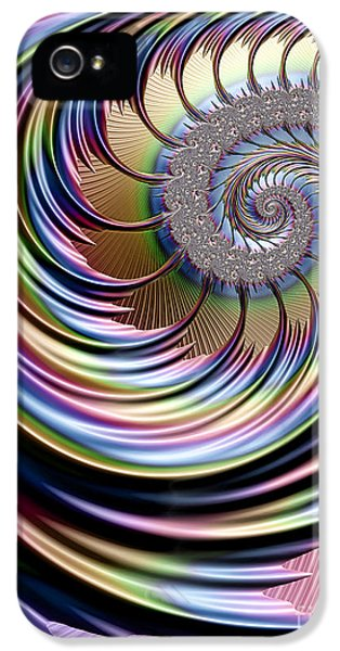 Creativity iPhone 5 Cases - Rainbow Fronds iPhone 5 Case by John Edwards