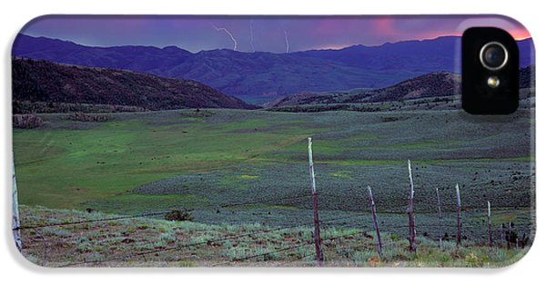 Ranch Land IPhone 5 / 5s Case by Leland D Howard