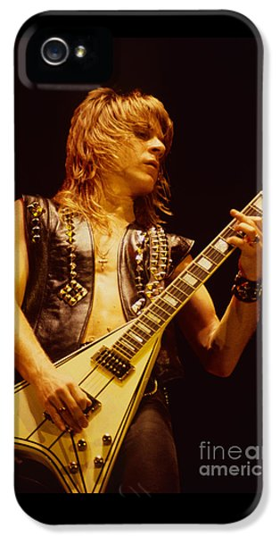 Randy Rhoads At The Cow Palace In San Francisco IPhone 5 / 5s Case by Daniel Larsen