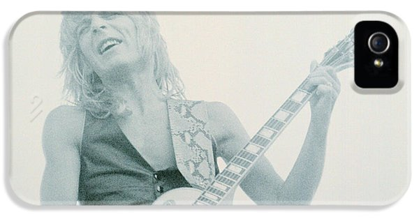Ozzy Osbourne iPhone 5 Cases - Randy Rhoads Day on the Green 7-4-81 iPhone 5 Case by Daniel Larsen