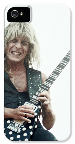 Randy Rhoads New Release At The Green In Oakland-july 4th 1981 IPhone 5 / 5s Case by Daniel Larsen